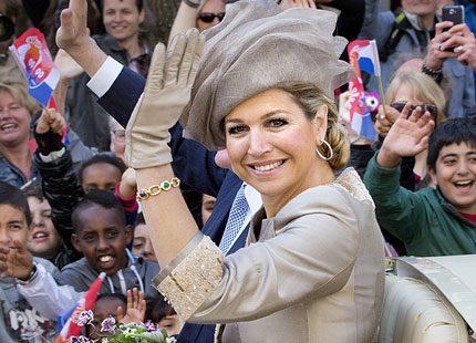 Willem Alexander och Máxima fick folkets jubel