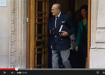 Prins Philip har lämnat sjukhuset