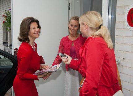 Läs om vår reporters möte med drottningen