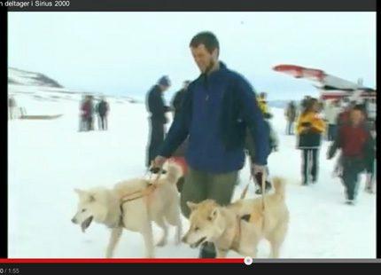 Sommarresa till snön på Grönland för Frederik