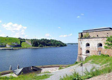 Kunglig pärla - Fredriksborgs fästning