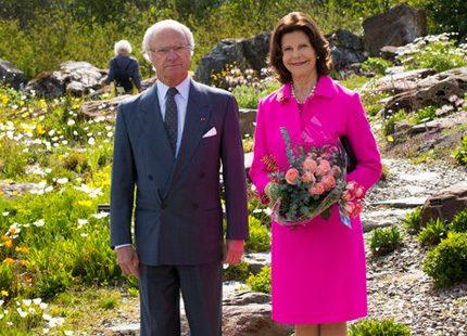 Den 14 augusti fortsätter kungaparet sin Sverigeresa