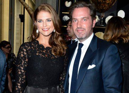 Madeleine och Chris i Paris - för att träffa Valentino