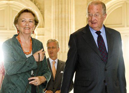 Kungligt möte i Bryssel i måndags