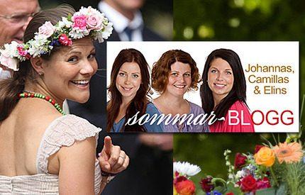 Premiär för vår nya Sommarblogg!