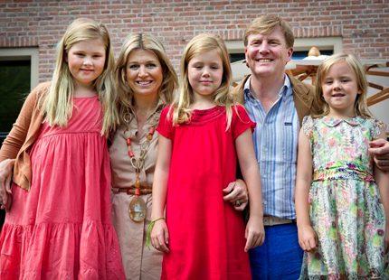 Snart sommarlov för Willem-Alexander och Máxima