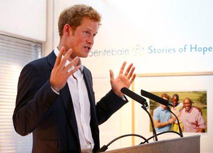 Prins Harry om sitt möte med prins George: Han skrek mycket...