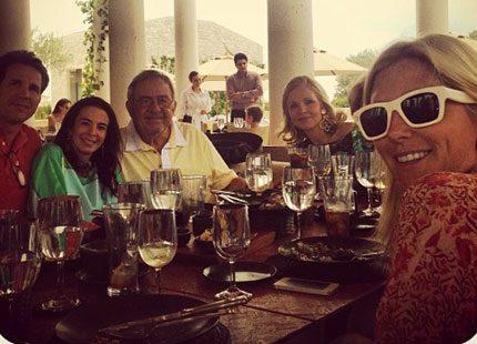 Marie-Chantals egna familjebilder från solsemestern i Grekland