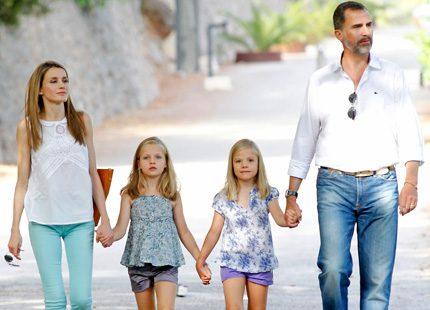 Besök på La Granja för kronprinsparet