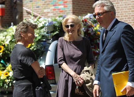 Belgiens prins tog ett sista farväl