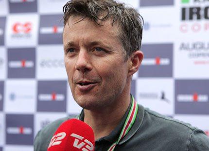 Frederik deltog i Ironman