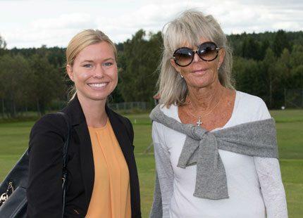 Margareta Heed träffade prinsessan Birgitta