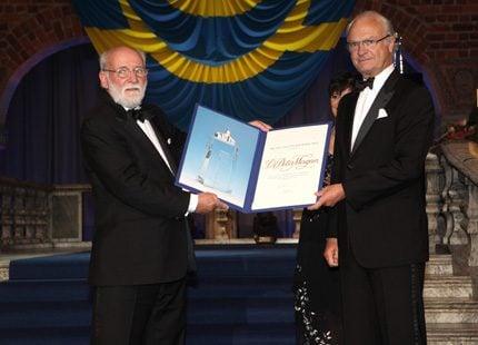 Kungaparet på Stockholm Water Prize