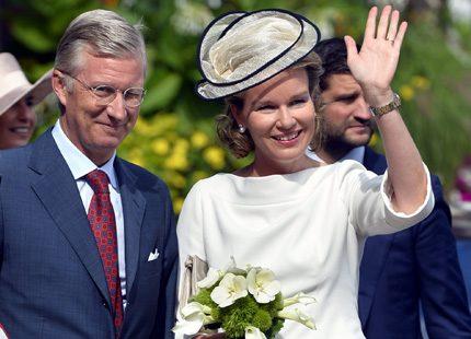 Philippe och Mathilde - denna gång i Walloon-Brabant