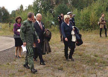 Idag avslutar kungaparet sina länsresor med ett besök i Jämtland