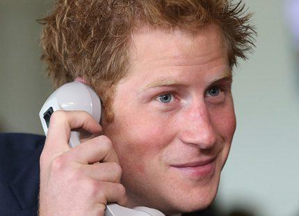 Nu passade det - Prins Harry gick på bröllop i helgen