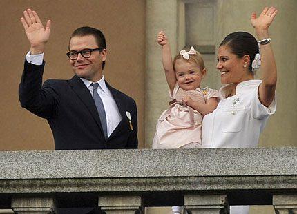 Även Sofia var med och firade prins Daniel
