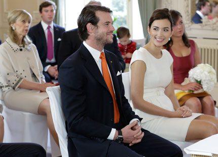 Se de officiella bilderna från prins Felix och Claires första vigsel