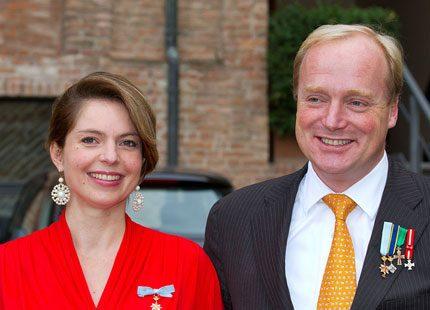 Carlos och Annemarie av Bourbon Parma får snart sitt andra barn