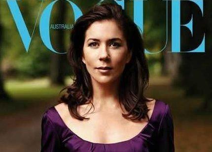 Kungliga modebloggen - om Mary som omslagsflicka