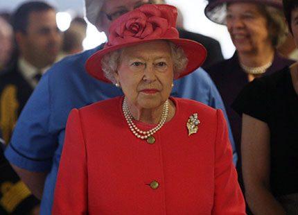 En studie i rött för drottningen