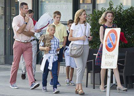 Cristina och barnens nya liv i Schweiz