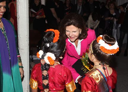 Drottning Silvia på konferens om barnkultur
