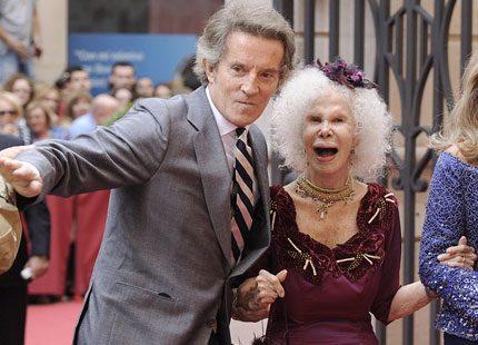 Hertiginnan av Alba stal showen på bröllopet