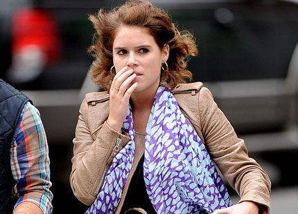 Prinsessan Eugenie och pizzan i New York