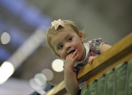Estelle - stjärnan i Kungliga tennishallen
