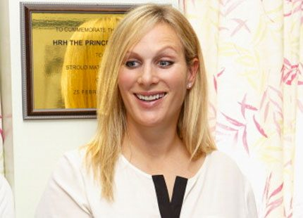 Gravida Zara Phillips blir gudmor till prins George