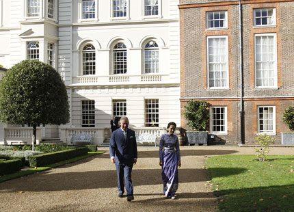 Prins Charles och Camilla träffade Burmas oppositionsledare