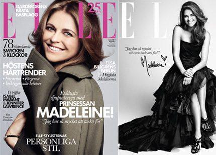 Madeleine i stor intervju för tidningen ELLE