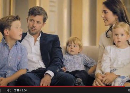Se två filmer med danska kronprinsparet