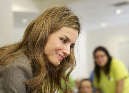 Kronprinsessan Letizia invigde sjukhem