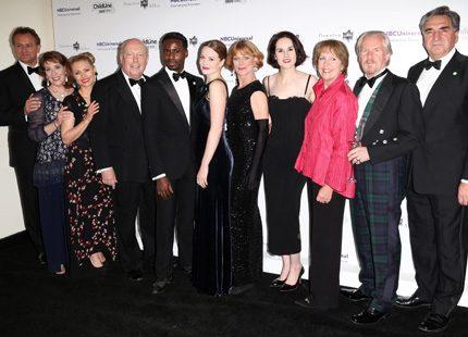 Mer vimmel - Downton Abbey-gänget ute i veckan