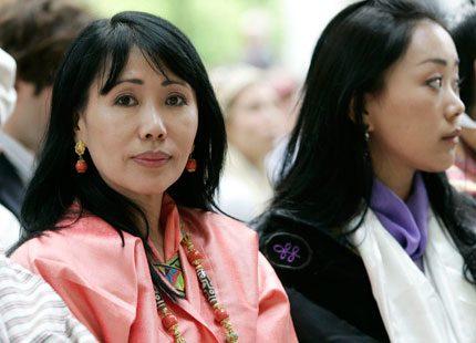 Drottningmodern av Bhutan berättar om sin kamp