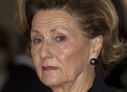 Drottning Sonja på skolprisutdelning
