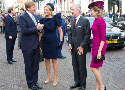 Bildspel: Máxima och Willem Alexander <br> i Karibien