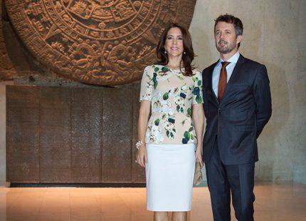 Mary och Frederik på besök i Mexiko