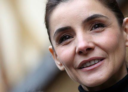 Filmstjärnan Clotilde Courau sponsrade vinauktion