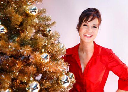 Petra Mede blev årets julvärd