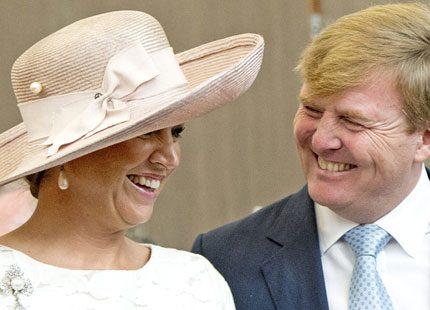 Drottning Máxima och kung Willem- Alexander i Colombia