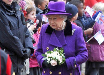 Drottning Elizabeth och prins Philip besökte kyrka
