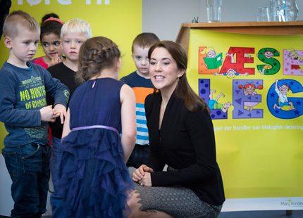 Kronprinsessan Mary besökte dagis