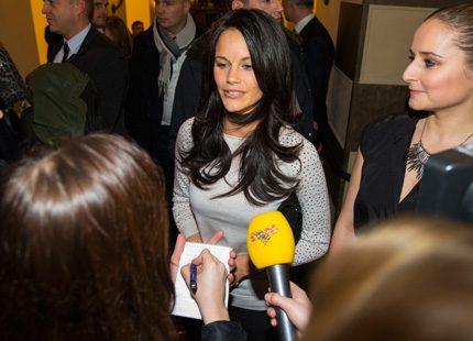 Sofia Hellqvist om bussolyckan: Prinsen mår bra!