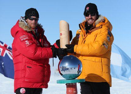 Prins Harry har slutfört sitt uppdrag på Sydpolen