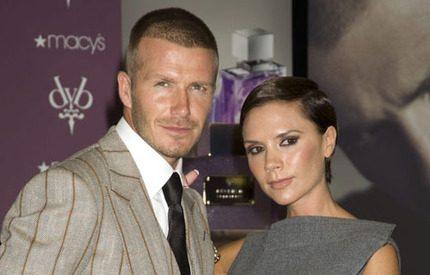 Beckhams firade 10-årig bröllopsdag på egen ö