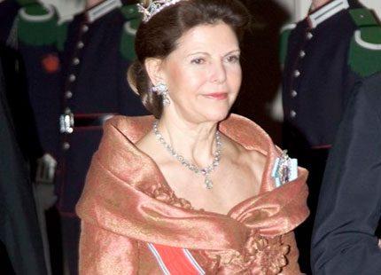 Margareta Heed berättade om drottningen i tv-studion