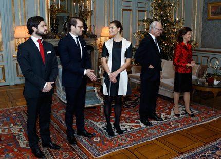 Officiell mottagning för drottning Silvia